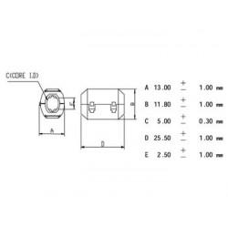FILTRE POUR CABLES Ø5.0mm