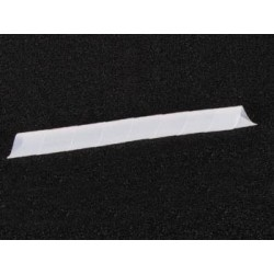 GAINE CACHE-FILS SPIRALEE 10m / Ø15mm (BLANC TRANSPARENT)