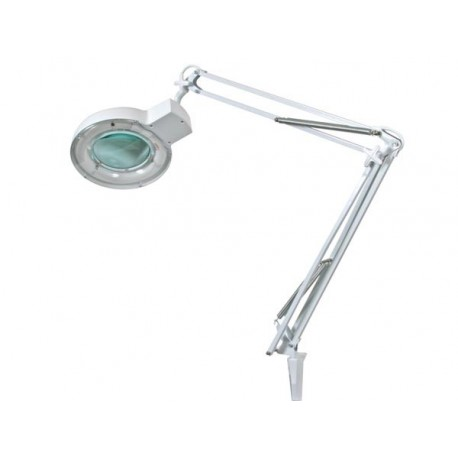 LAMPE-LOUPE 5 DIOPTRIES- 22W - BLANC