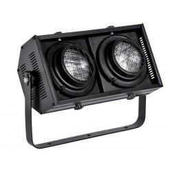 STAGE BLINDER A CONTROLE DMX - 2 LAMPES DWE 120 V/650 W - NOIR