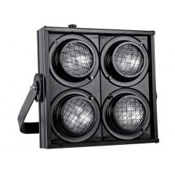 STAGE BLINDER A CONTROLE DMX - 4 LAMPES DWE 120V/650W (non incl.) - NOIR