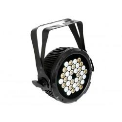 SMART LED PAR PRO - NOIR - DOUBLE ETRIER - 36 x 1W BLANC CHAUD ET FROID