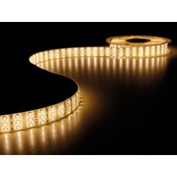 FLEXIBLE TRIPLE A LED - BLANC CHAUD - 900 LED - 5m - 12Vdc