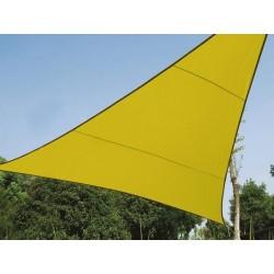 VOILE SOLAIRE - TRIANGLE - 5 x 5 x 5 m - COULEUR: VERT LIME