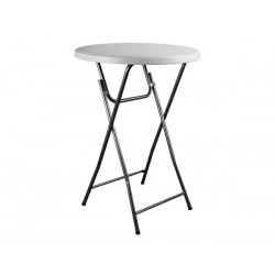 TABLE PLIANTE - ROND - Ø 80 x 110 cm