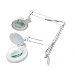 LAMPE-LOUPE 5 DIOPTRIES- 22 W - BLANC