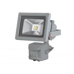 PROJECTEUR LED D'EXTERIEUR AVEC CAPTEUR PIR - PUCE EPISTAR 10 W - 3000 K