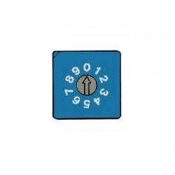 COMMUTATEUR BCD CODE BINAIRE - MONTAGE CI