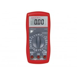 MULTIMETRE NUMERIQUE - CAT. III 600 V - 10 A - FONCTION DATA-HOLD / TEST DE DIODES / TEST DE BATTERIE / RONFLEUR