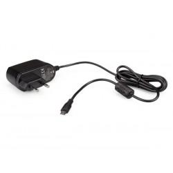 CHARGEUR COMPACT AVEC CONNEXION MICRO USB - 5 VCC - 2 A MAX. - 10 W - NOIR
