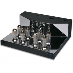 AMPLIFICATEUR STEREO A TUBES / FINITION CHROMEE