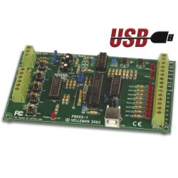 CARTE INTERFACE USB D'EXPERIMENTATION