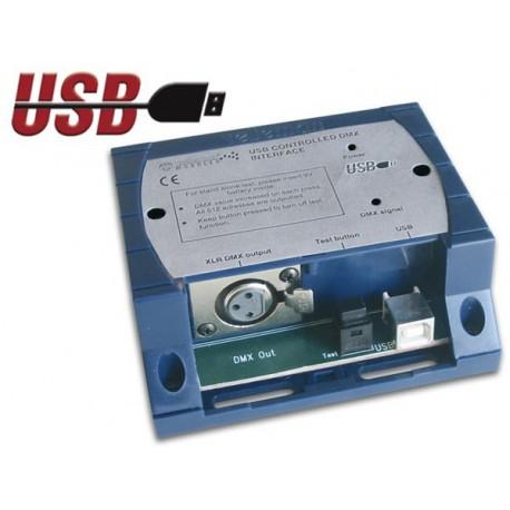 REGIE DE LUMIERE DMX VIA USB