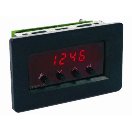 vm163 horloge panneau a led avec alarme. Black Bedroom Furniture Sets. Home Design Ideas