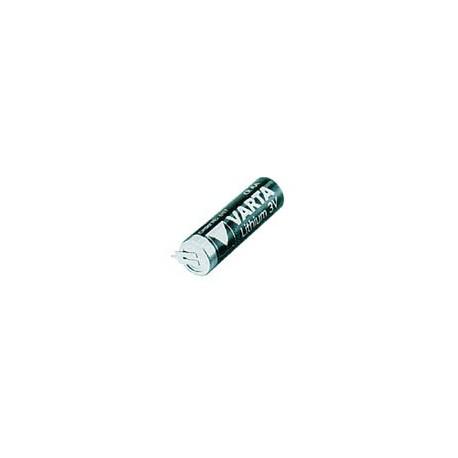LITHIUM 3.0V-2000mAh 6117.201.501 PCB HORIZONTAL SOLDER PINS
