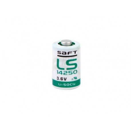 LITHIUM 3.6V/1200MAH SAFT 1/2AA