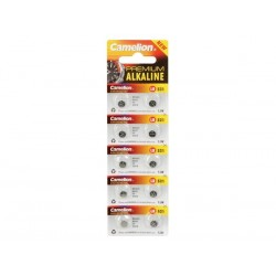 PILE BOUTON POUR MONTRE 1.5V-12mAh LR521/AG0 (10 pcs/bl)