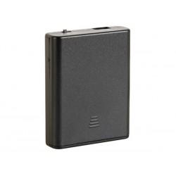 COUPLEUR DE 4 PILES R6 (AVEC CONNEXION USB) INTERRUPTEUR