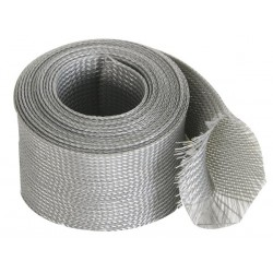 GAINE POUR CABLE - FLEXIBLE - 55 mm x 5 m - GRIS