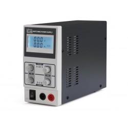 ALIMENTATION A DECOUPAGE DC LAB 0-30 VCC / 0-3 A MAX AVEC ECRAN LCD