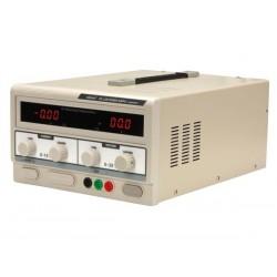ALIMENTATION DC LAB 0-30 VCC / 0-10 A MAX AVEC DOUBLE ECRAN LED