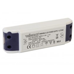 PILOTE DE LED A COURANT CONSTANT - LUMINOSITE REGLABLE - 350mA - 59V max.