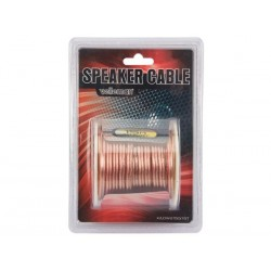 CABLE HAUT-PARLEUR - TRANSPARENT - 2 x 1.50mm² - 15m