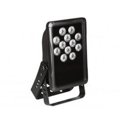 PROJECTEUR LED D'EXTERIEUR - IP65 - 12 x LED RGB DE 3 W