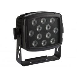 PROJECTEUR LED D'EXTERIEUR - 12 x 12 W RGBW-UV LED