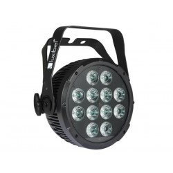 LUXIBEL - SMART HEXA LED PAR 12 X 12 W - LED RGBWAP