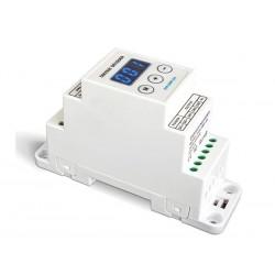 VARIATEUR LED - POUR RAILS DIN - DMX - RVB