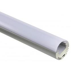PROFILE EN ALUMINIUM POUR FLEXIBLES LED - ROND - 2m