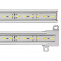 BARRETTE A LED RIGIDE - HAUTE LUMINOSITE - 50 CM - BLANC CHAUD