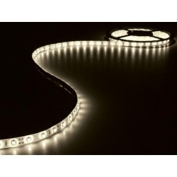 JEU DE FLEXIBLE LED ET ALIMENTATION - BLANC CHAUD - 180 LEDs - 3 m - 12 Vcc