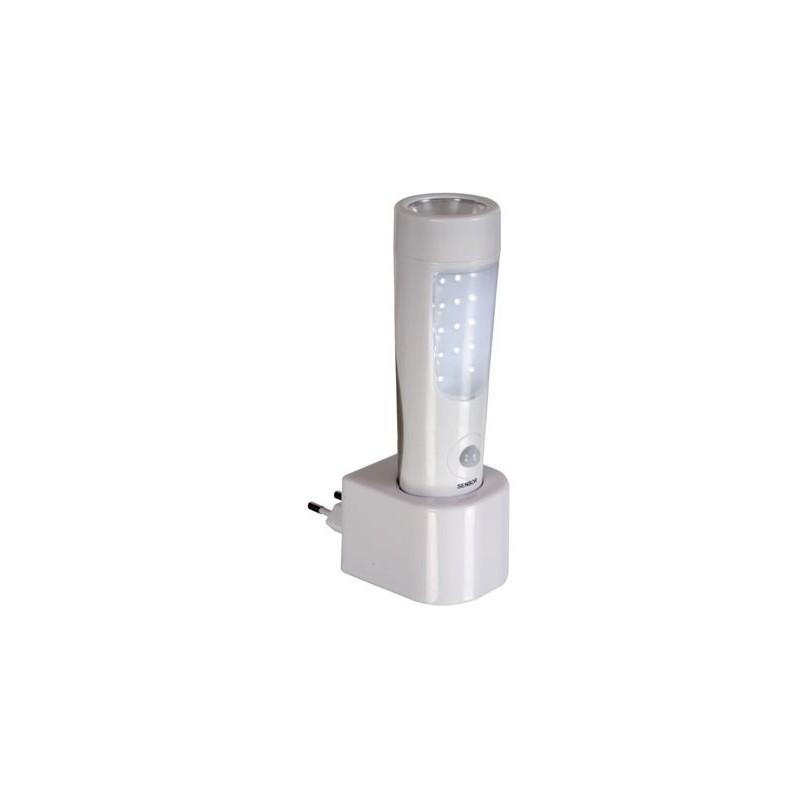 9 led Velleman Lampe-torche led puissante avec 4 piles R6