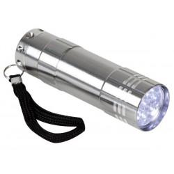 PRESENTOIR AVEC 16 x LAMPE-TORCHE LED (9 LEDS)
