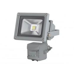 PROJECTEUR LED D'EXTERIEUR AVEC CAPTEUR PIR - PUCE EPISTAR 10 W - 6500 K