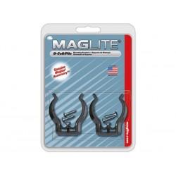 MAGLITE - CROCHETS DE FIXATION POUR ML/MAG-CHARGER/2D/3D - 2 pcs