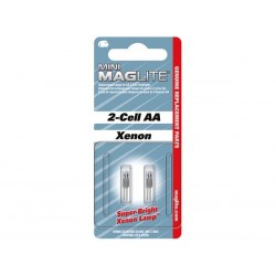 MAGLITE - AMPOULE DE RECHANGE (XENON) POUR MINI R6 - 2 pcs