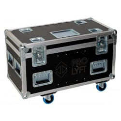 FLIGHTCASE for 2 x ProLyft Aetos 250