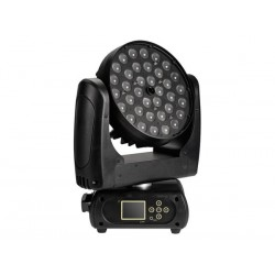 LUXIBEL - 36 x 15 W OSRAM LED RGBW MOVING HEAD WITH ZOOM