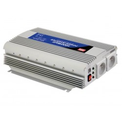 MEAN WELL - CONVERTISSEUR CC-CA A ONDE SINUSOIDALE MODIFIEE - 1000 W - PRISE FRANCAISE