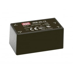 MEAN WELL - ALIMENTATION - 1 SORTIE - 20 W - ENCAPSULE - 5 V